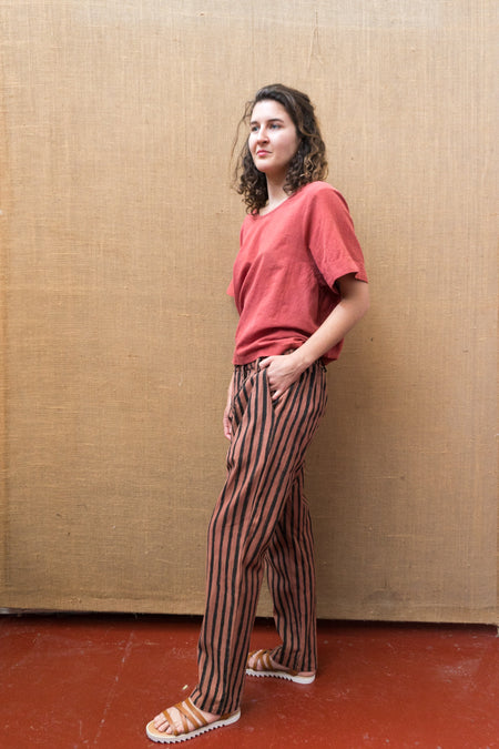 Tailored Pants - Catchu Stripes-Women-The ANJELMS Project