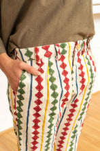 Load image into Gallery viewer, Tailored Pants Diamond Print-Women-The ANJELMS Project