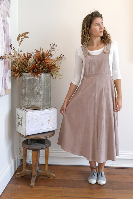 Pinafore-Women-S-Himalayan Rhubarb & Iron-The ANJELMS Project