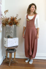 Load image into Gallery viewer, Drop Crotch Overalls-Women-S-Catchu-The ANJELMS Project