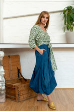 Load image into Gallery viewer, Nepalese Long Skirt Indigo-Women-The ANJELMS Project