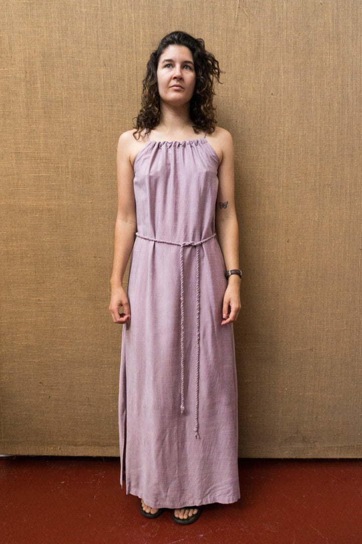 Tie Neck Maxi - Lac-Women-The ANJELMS Project