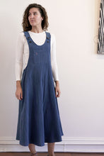 Load image into Gallery viewer, Pinafore-Women-M-Indigo-The ANJELMS Project