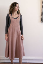 Load image into Gallery viewer, Pinafore-Women-M-Himalayan Rhubarb-The ANJELMS Project