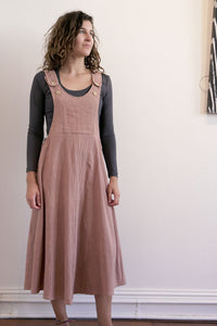 Pinafore-Women-M-Himalayan Rhubarb-The ANJELMS Project