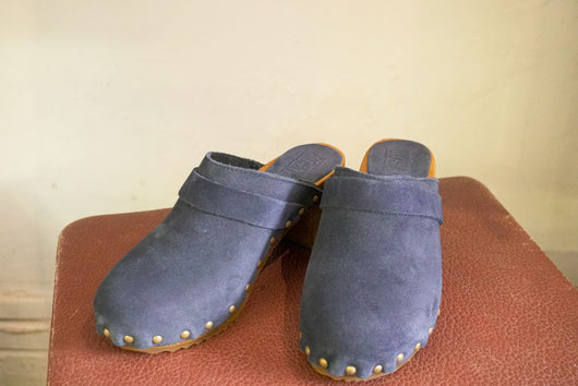 Clog - Nubuck Denim