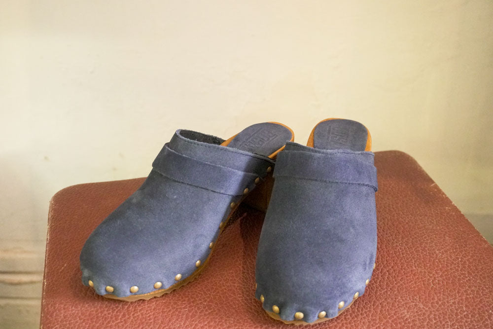 Clog - Nubuck Denim-Accessories-The ANJELMS Project