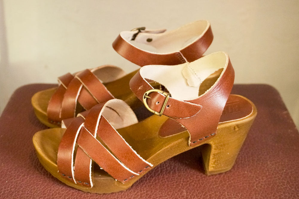 Sandals - Vege Cognac-Accessories-The ANJELMS Project