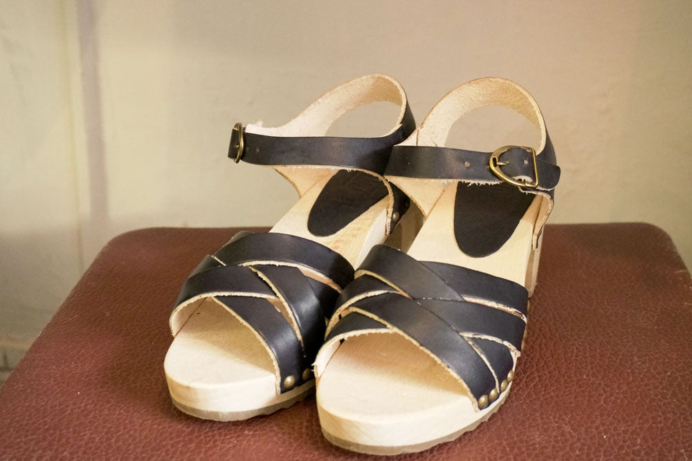 Sandals - Vege Navy-Accessories-The ANJELMS Project