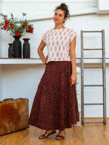 Cap Sleeve Top - Rose Bush-Women-The ANJELMS Project
