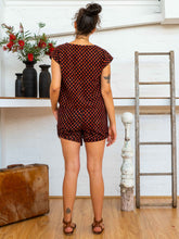 Charger l'image dans la galerie, Tab Drawstring Shorts - Pushkar Rose-Women-The ANJELMS Project