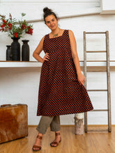 Load image into Gallery viewer, Apron Dress - Pushkar Rose-Women-The ANJELMS Project