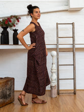 Load image into Gallery viewer, Wrap Dress - Jaipur Floral-Women-The ANJELMS Project