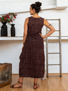 Wrap Dress - Jaipur Floral-Women-The ANJELMS Project