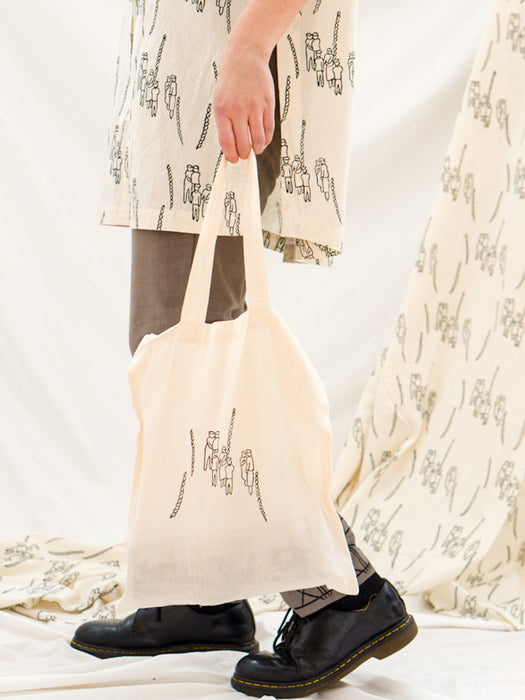 Tote Bag - People Gathering Print