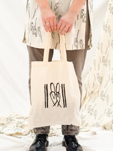 Load image into Gallery viewer, Tote Bag - Cane Bench Print