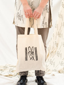 Tote Bag - Cane Bench Print