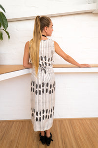 Wrap Dress | Humanity To Community Print-Women-The ANJELMS Project