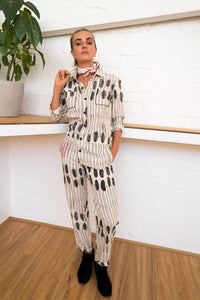 Boiler Suit | Humanity To Community Print-Women-The ANJELMS Project