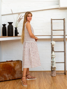 Drop Waist Dress - Arabesque-Women-The ANJELMS Project