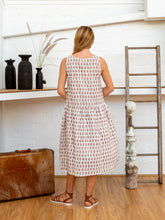 Load image into Gallery viewer, Drop Waist Dress - Arabesque-Women-The ANJELMS Project