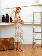 Load image into Gallery viewer, Tie Wrap Dress - Arabesque-Women-The ANJELMS Project