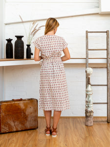 Tie Wrap Dress - Arabesque-Women-The ANJELMS Project