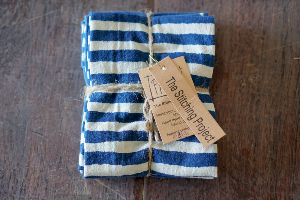 Mud Resist Fat Quarters - Indigo