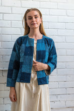 Load image into Gallery viewer, Indigo Patchwork Jacket