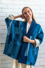 Load image into Gallery viewer, Kimono Indigo Patchwork