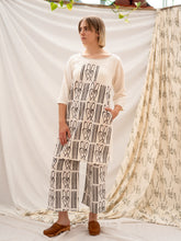 Load image into Gallery viewer, Yoke Dress - Cane Bench Print