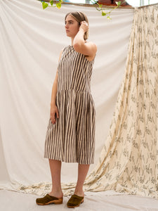 Drop Waist Dress - Kashish Stripe