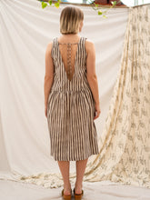 Load image into Gallery viewer, Drop Waist Dress - Kashish Stripe