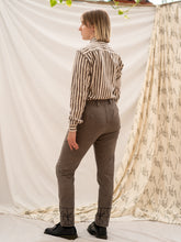 Load image into Gallery viewer, Tailored Pants - Fence Print