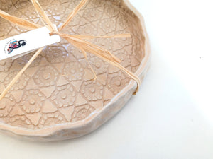 Platter - Beije Lace - Medium