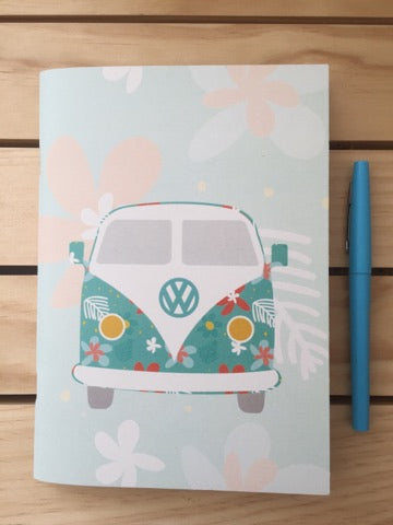 Combi Van - A5 Notebook