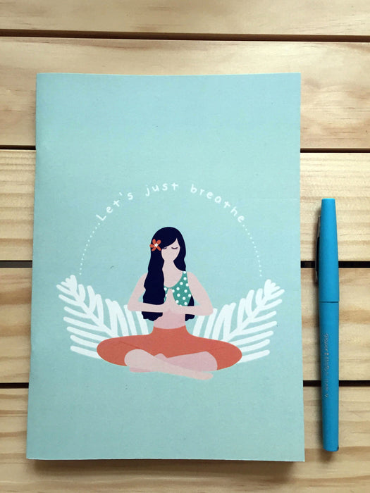 Yoga Girl- A5 Notebook