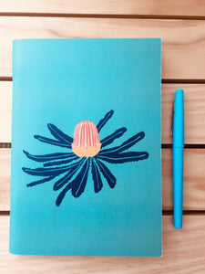 Banksia Flower - A5 Notebook