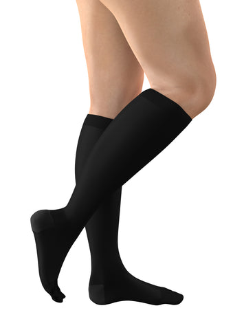 FITLEGS 2 Below Knee - Black