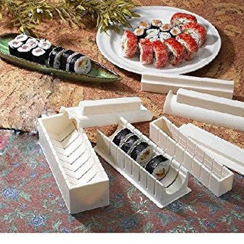 With the best sushi making mold sushi becomes an easy preparation!