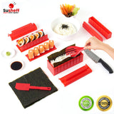 Sushi Making Kit 11 Piece Sushi Set Rolling Set With Chef Knife