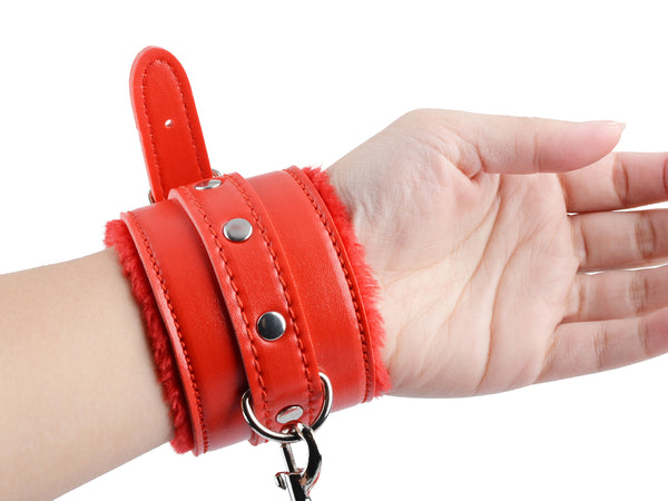 Toynary SM01 Adjustable Leather Handcuffs