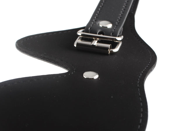 Toynary SM12 Leather Blindfold - Black