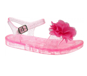 Lelli Kelly lk 7950 Transparent Rosa Pink Jelly Sandals New In