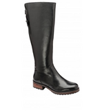Black Cloverdale Leather Knee-High Boots | Ravel