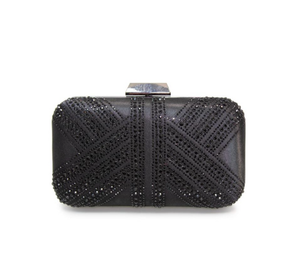Lunar Ruth Diamante Clutch Bag Code: ZLR493
