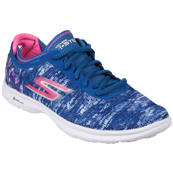 Skechers Blue/Pink Go Step