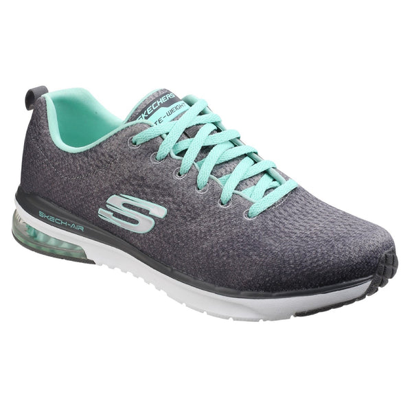 Skechers Charcoal/Multi Skech-Air Infinity - Modern Chic