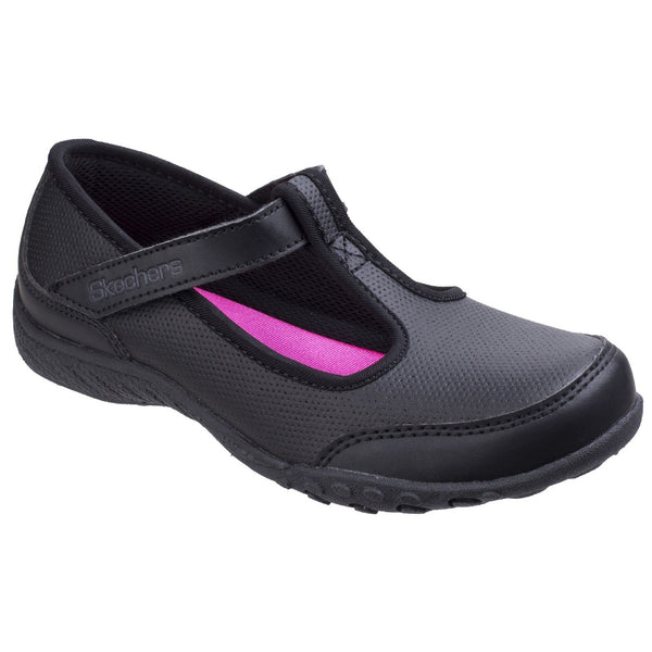 Skechers Black Breathe Easy - Playground Princess