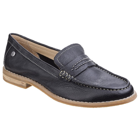 Hush Puppies Black Aubree Chardon Loafer
